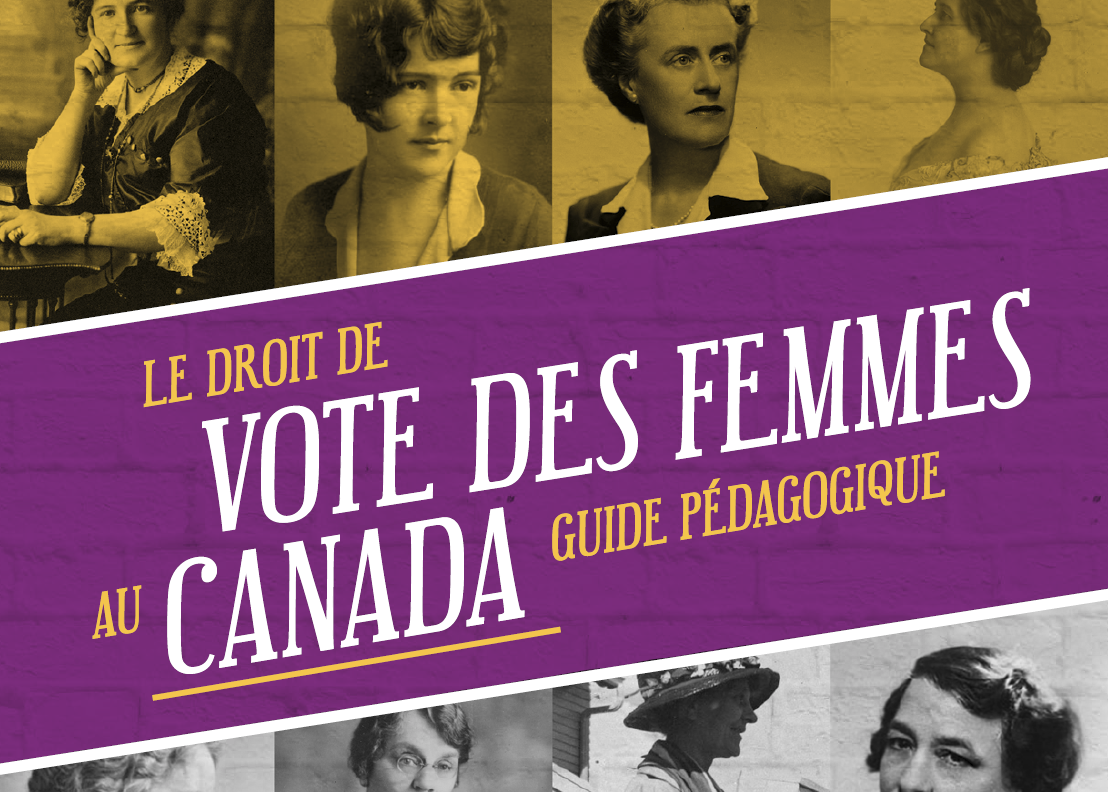 Vote des femmes au Canada - Guide pédagogique